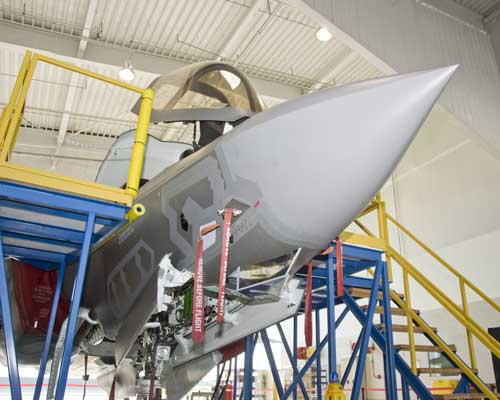 Working on BF-4 (Credit: Lockheed Martin)