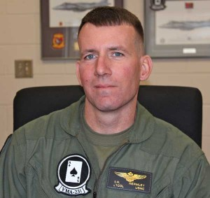 Lt. Col. Hermley During the SLD Interview (Credit: SLD)