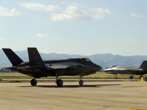 F-35 takeoffs will be an increasingly common occurrence at Luke Air Force Base in Glendale as the current fleet of nine is expected to grow to 144 within a decade. (Photo: Photos by David Wallace/The Republic)